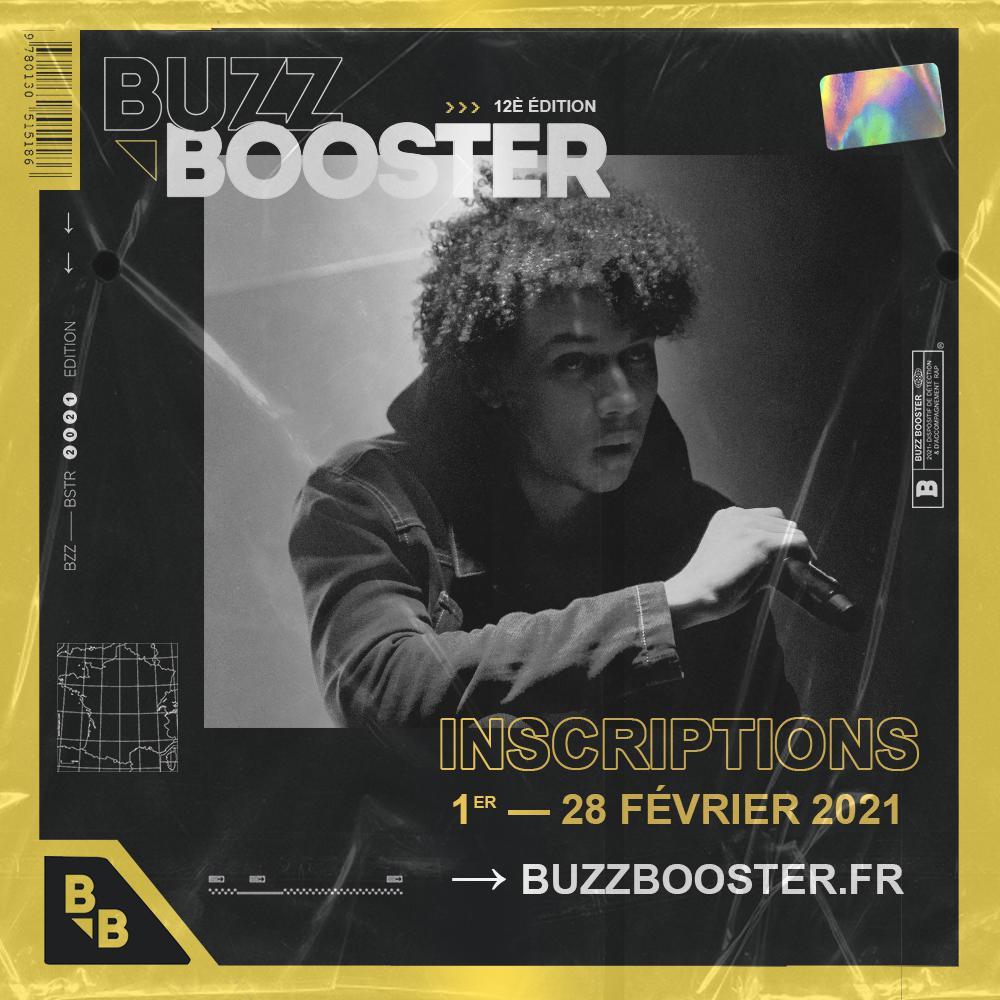 Buzz Booster : artistes rap, inscrivez-vous pour l'édition 2021