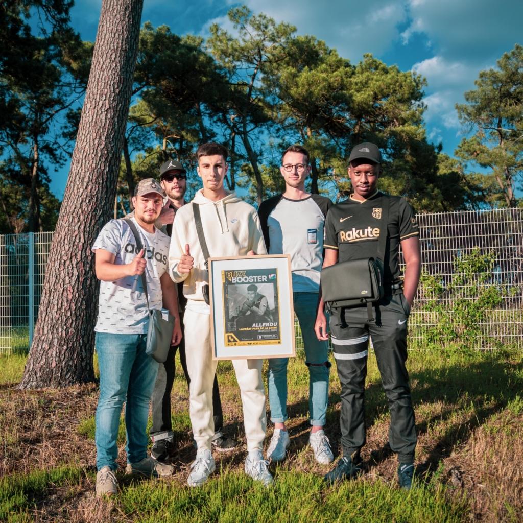 Le manceau Allebou désigné lauréat 2021 Buzz Booster des Pays de La Loire