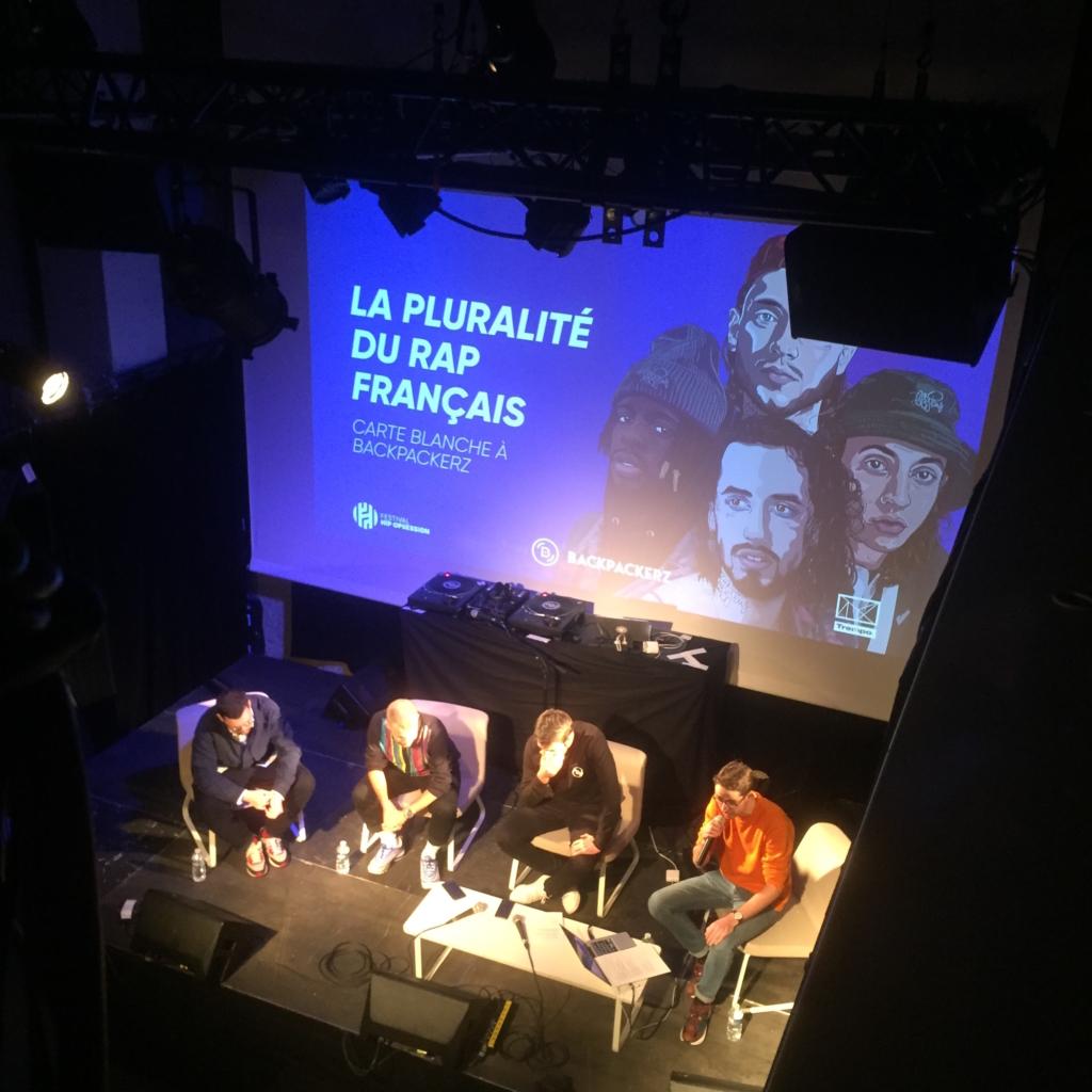 Conférence sur la pluralité du rap français feat. Medhi Maïzi et Jean Morel