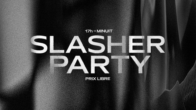 Slasher, l'exposition