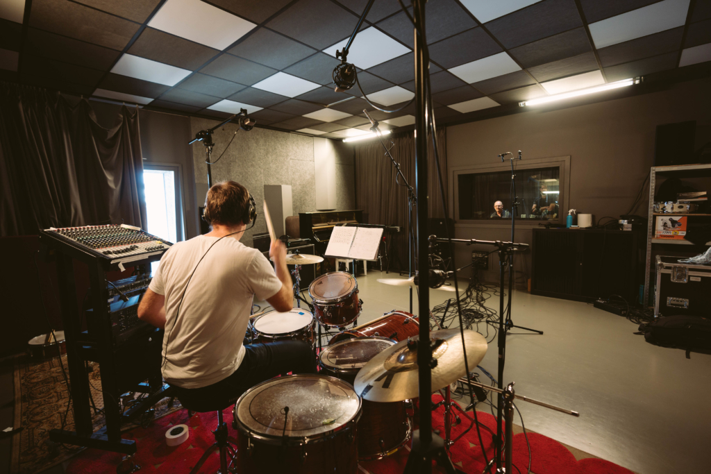 Photo du studio d'enregistrement de Trempo
