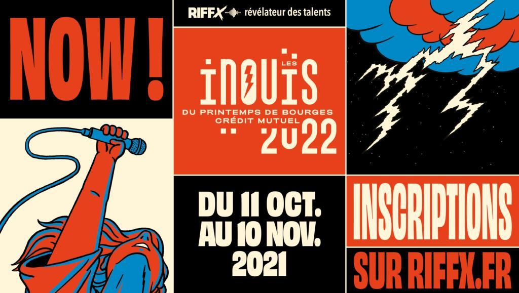 Appel à candidatures : iNOUïS 2022 du Printemps de Bourges Crédit Mutuel